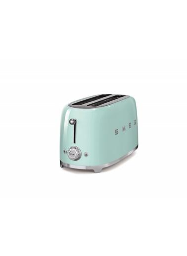 Smeg TSF02PGEU Linea 50's Retro Style Yeşil Dörtlü Ekmek Kızartma Makinesi Yeşil